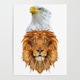 Eagle Lion Poster