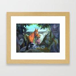 First Show Framed Art Print