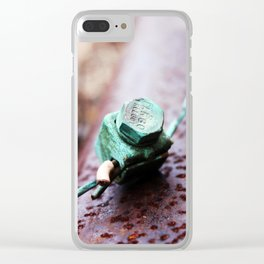 Industrial Age Clear iPhone Case