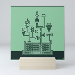 Planticular Robotic Mini Art Print