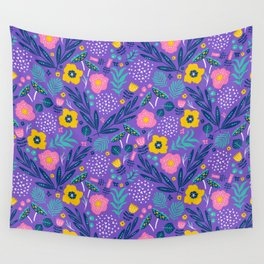 Flora Delight Wall Tapestry
