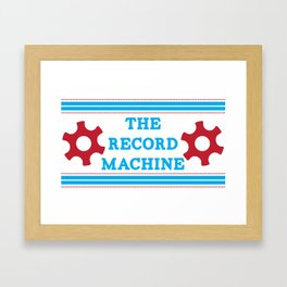 The Record Machine Mug Framed Art Print