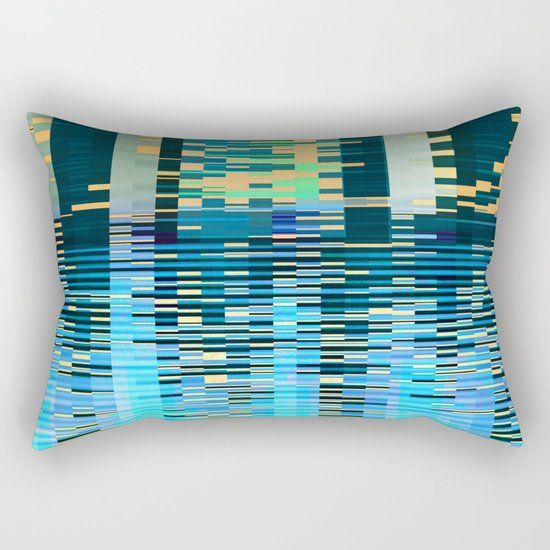 city on water Rectangular Pillow