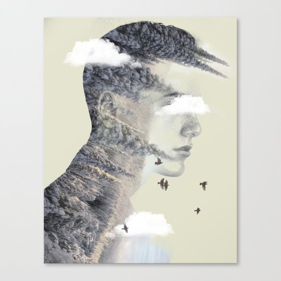 Natures spike Canvas Print