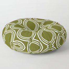 Hatchees (Olive Green) Floor Pillow