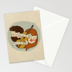 Music Is All Around Stationery Cards