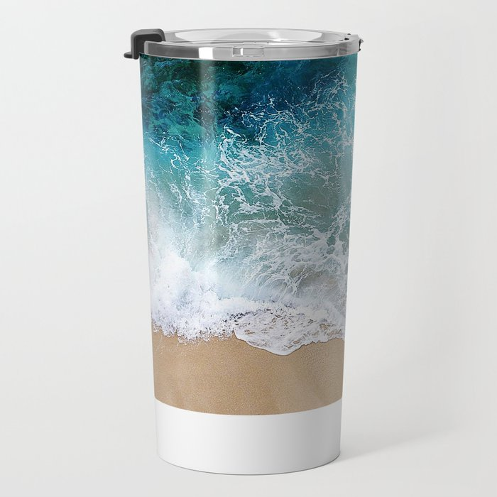 Ocean Waves I Travel Mug