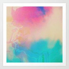 Glitch 06 Art Print