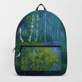 White Birch Forest, New England Landscape Backpack