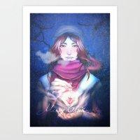 xmas Art Prints featuring Xmas by Plotto