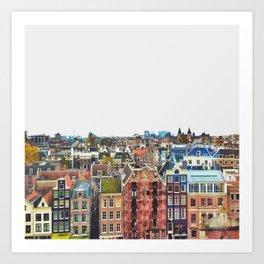 My Amsterdam Art Print