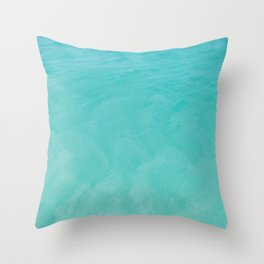 Caribbean Sea Throw Pillow