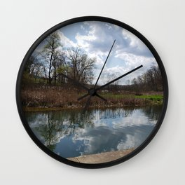 Oh to reflect Wall Clock