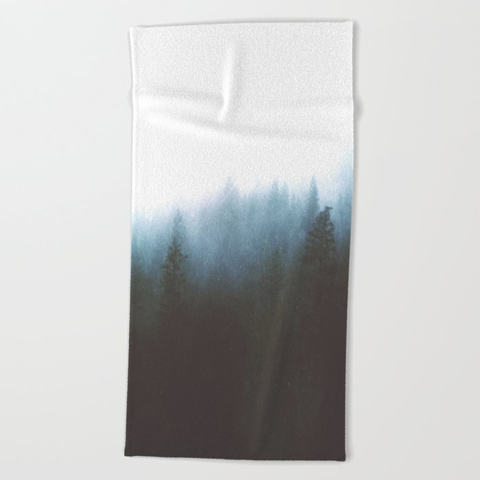 Blue Ghost Beach Towel