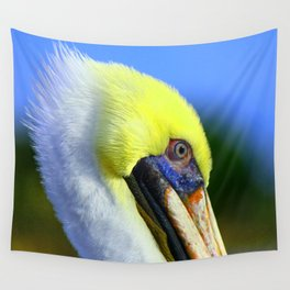 Pelican in Ft. Myers Wall Tapestry