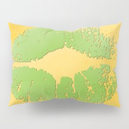 dp048-2 Watercolor kiss Pillow Sham