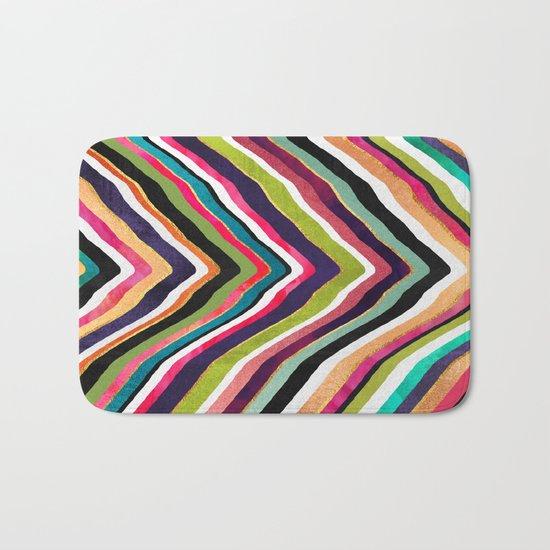 Color Slice Bath Mat