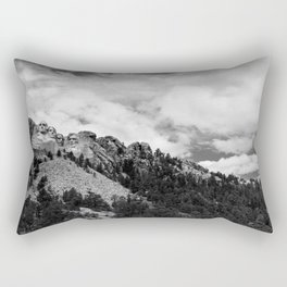 Mount Rushmore National Monument Rectangular Pillow