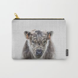 Fluffy Cow - Colorful Carry-All Pouch
