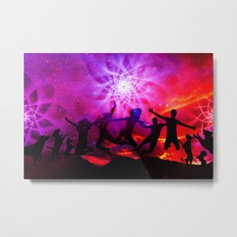Frienship Metal Print