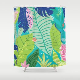 Southern Prepster Charm Shower Curtain