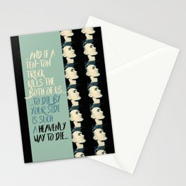 """Heavenly way to Die"" Stationery Cards"