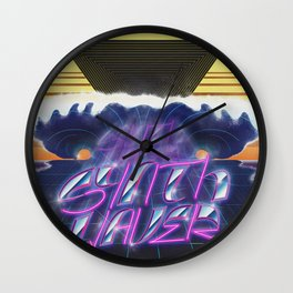 Synthwaver Wall Clock