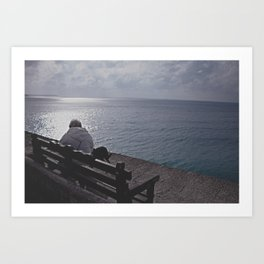 By The Sea! Art Print