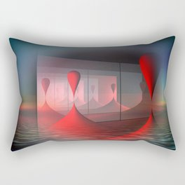 crazy reflections Rectangular Pillow