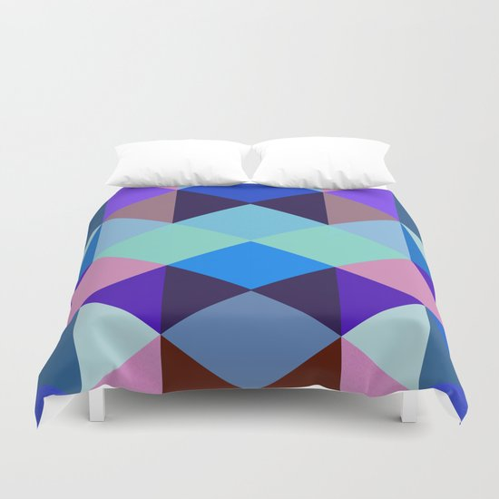 Abstract #375 Duvet Cover
