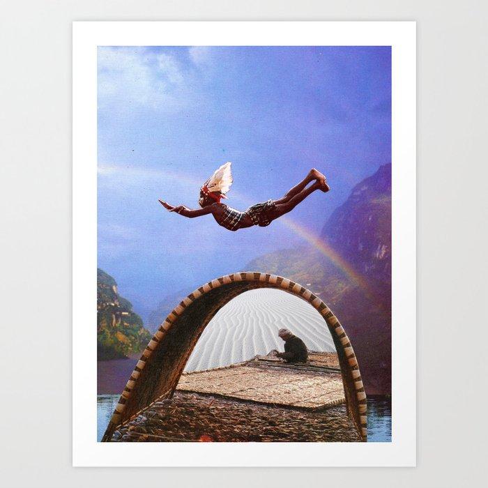 Memories of Flying Art Print