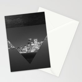SF upside down Stationery Cards