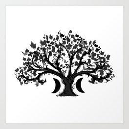 The Zen Tree Art Print