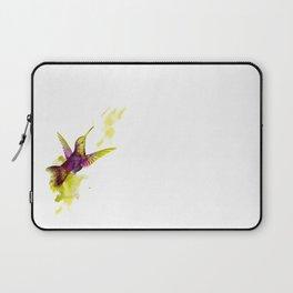 Oiseau magenta Laptop Sleeve
