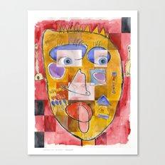 I feel playful Canvas Print