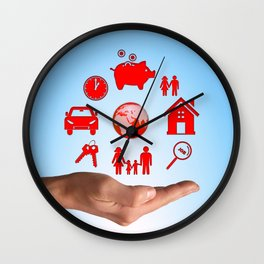 Life values Wall Clock