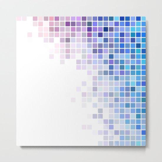 Pretty corner mosaic Metal Print