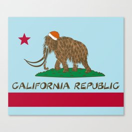 California Republic Mammoth Canvas Print