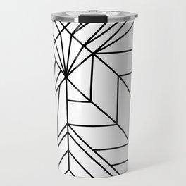 line geometry shapes Travel Mug