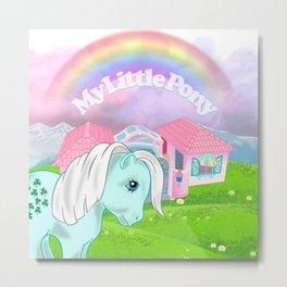 g1 my little pony paradise estate Metal Print