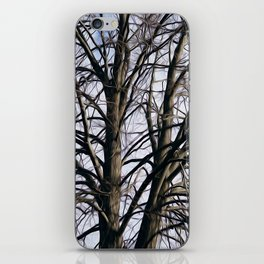 Stained Glass Tree iPhone Skin