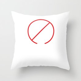 Alcohol Derive Math Teacher Joke Mathematician Throw Pillow