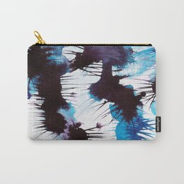 Blue Abstraction 3 Carry-All Pouch