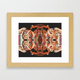 Cuentos de amor de locura y de muerte / 001 Framed Art Print