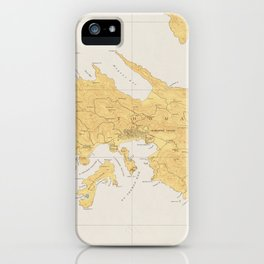 Vintage Map of St Thomas (1922) iPhone Case