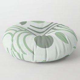 Sage Brush Absract Geometric Floor Pillow