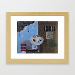 The Curiosity Framed Art Print