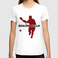 lacrosse T-shirts featuring Beacon Hills Lacrosse by Keyweegirlie