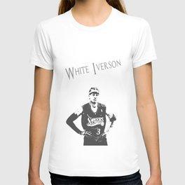 White Iverson T-shirt