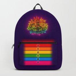 Mushroom Rainbow Backpack